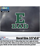 Eastern Michigan University Dad Eagles Decal