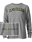 College of Our Lady of the Elms Blazers Long Sleeve Victory Falls T-Shirt