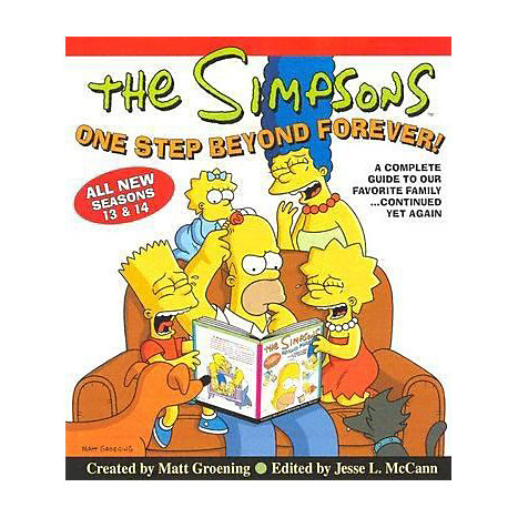 ISBN: 9780060817541, Title: SIMPSONS ONE STEP BEYOND FOREV