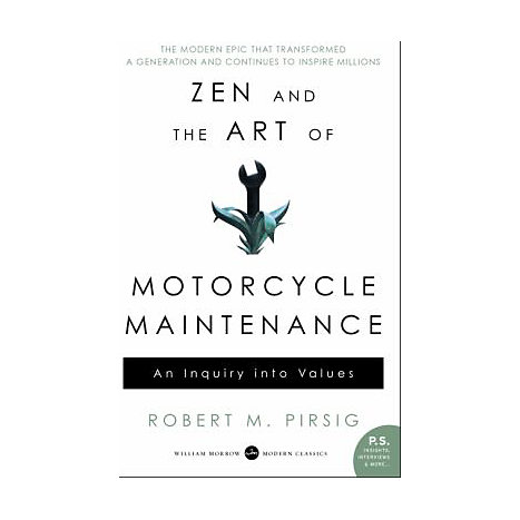 ISBN: 9780060839871, Title: ZEN AND ART OF MOTORCYCLE