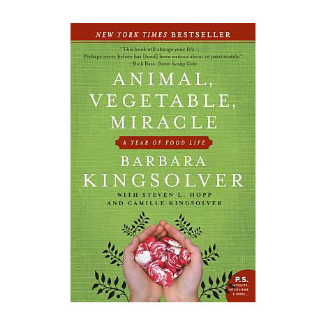 ISBN: 9780060852566, Title: ANIMAL VEGETABLE  MIRACLE