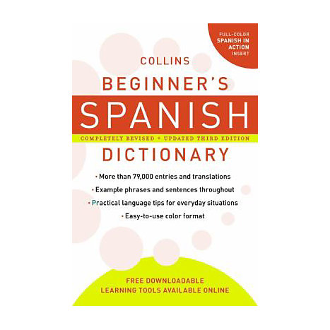 ISBN: 9780061374937, Title: BEG SPANISH DICT 3E
