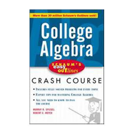 ISBN: 9780070527096, Title: COLLEGE ALGEBRA EASY OUTLINES