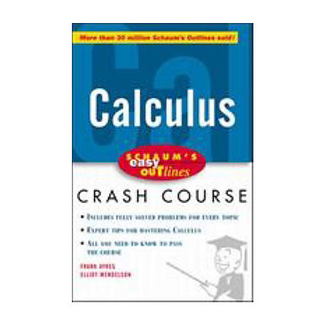 ISBN: 9780070527102, Title: CALCULUS EASY OUTLINES