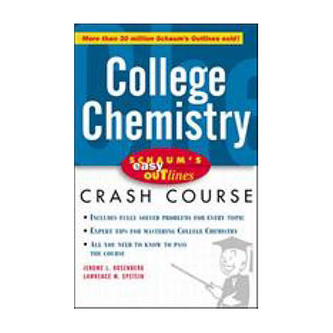 ISBN: 9780070527140, Title: COLLEGE CHEMISTRY EASY OUTLINE