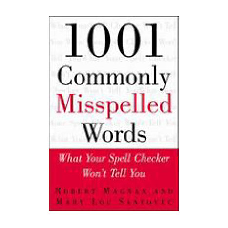 ISBN: 9780071357364, Title: 1001 COMMONLY MISSPELLED WORDS