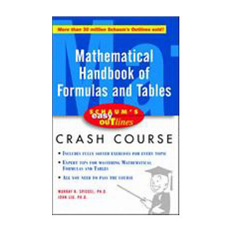 ISBN: 9780071369749, Title: MATHEMATICAL HNDBK EASY OUTLIN