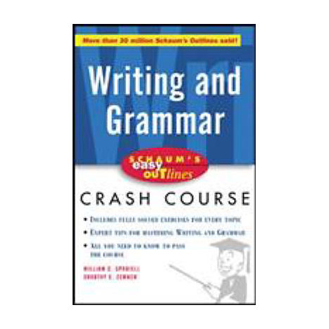 ISBN: 9780071372077, Title: WRITING & GRAMMAR EASY OUTLINE