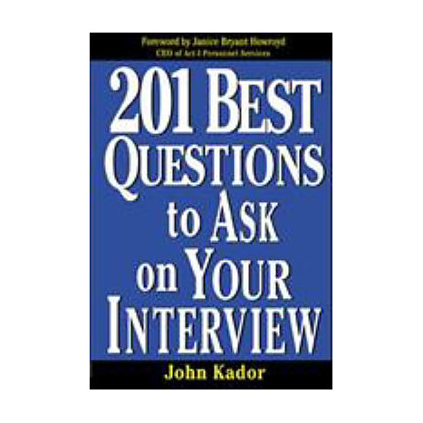 ISBN: 9780071387736, Title: 201 BEST QUESTIONS TO ASK