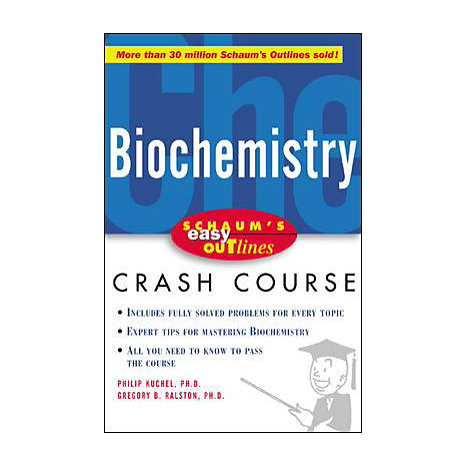 ISBN: 9780071398756, Title: BIOCHEMISTRY EASY OUTLINES