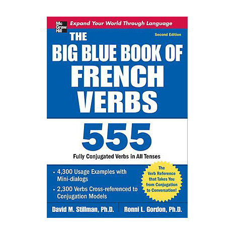 ISBN: 9780071591485, Title: BIG BLUE BK FRENCH VERBS