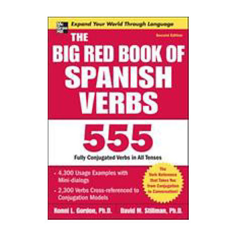 ISBN: 9780071591539, Title: BIG RED BOOK OF SPANISH VERBS