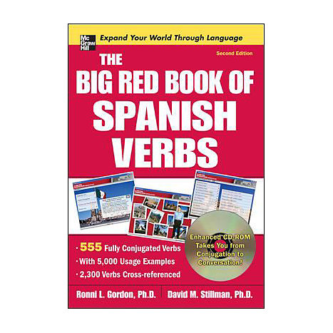 ISBN: 9780071591553, Title: BIG RED BK SPANISH VERBS W/CD