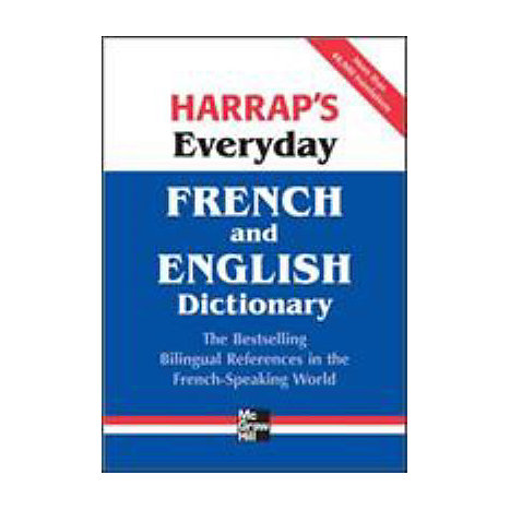 ISBN: 9780071621236, Title: EVERYDAY FRENCH & ENGLISH DICT
