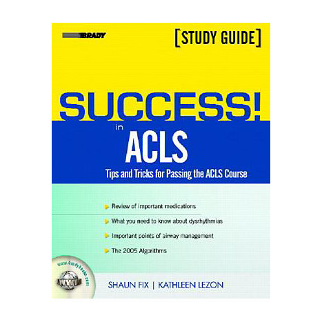 ISBN: 9780131176218, Title: ACLS STUDY GUIDE