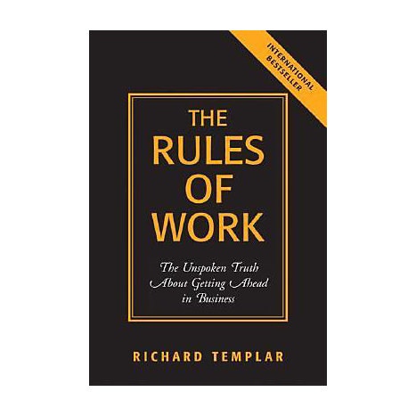 ISBN: 9780131858381, Title: RULES OF WORK  THE UNSPOKEN TR