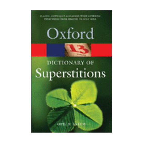 ISBN: 9780192806642, Title: DICTIONARY OF SUPERSTITIONS