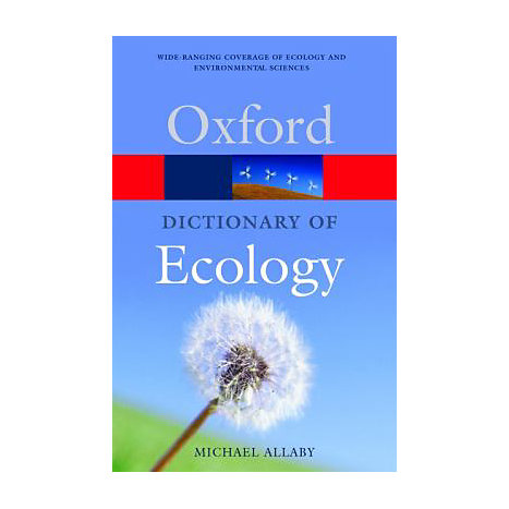 ISBN: 9780198609056, Title: DICT OF ECOLOGY  OXFORD