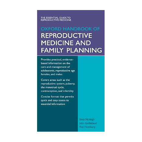 ISBN: 9780199203802, Title: Oxford Handbook of Reproductive Medicine and Family Planning