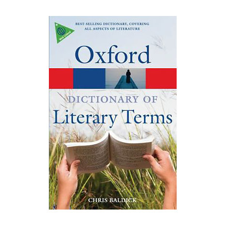 ISBN: 9780199208272, Title: OXFORD DICT OF LITERARY TERMS