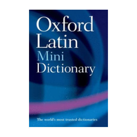 ISBN: 9780199534388, Title: LATIN MINI DICTIONARY 2E