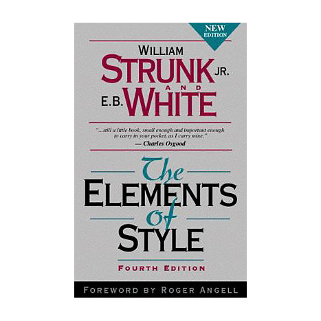 ISBN: 9780205309023, Title: ELEMENTS OF STYLE 4E