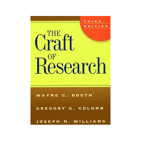 ISBN: 9780226065663, Title: CRAFT OF RESEARCH 3E