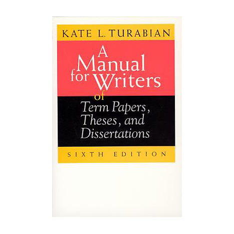 ISBN: 9780226816272, Title: MANUAL WRITERS 6TH