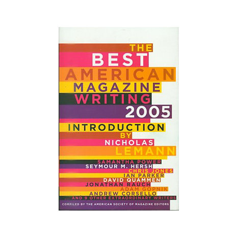 ISBN: 9780231137812, Title: BEST 05AMERICAN MAGAZN WRITING