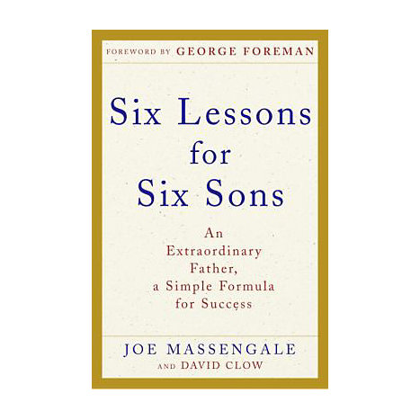 ISBN: 9780307238108, Title: SIX LESSONS FOR SIX SONS