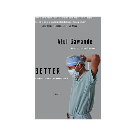 ISBN: 9780312427658, Title: BETTER  A SURGEONS NOTES ON PE