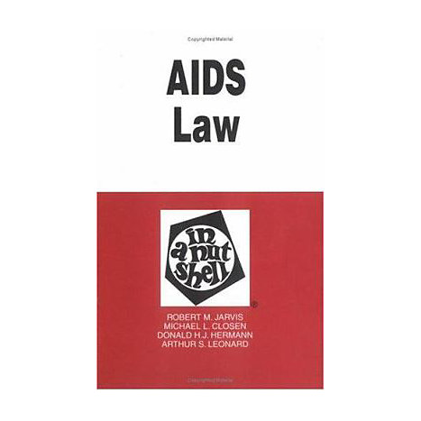 ISBN: 9780314067821, Title: AIDS LAW NS 2E