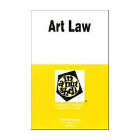 ISBN: 9780314158789, Title: ART LAW NS 4E