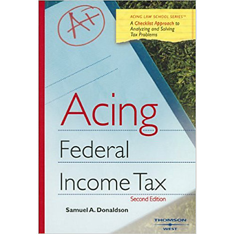 ISBN: 9780314176837, Title: ACING INCOME TAXATION