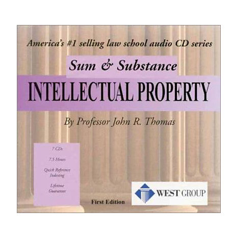 ISBN: 9780314264930, Title: INTELLECTUAL PROPERTY SSA CD