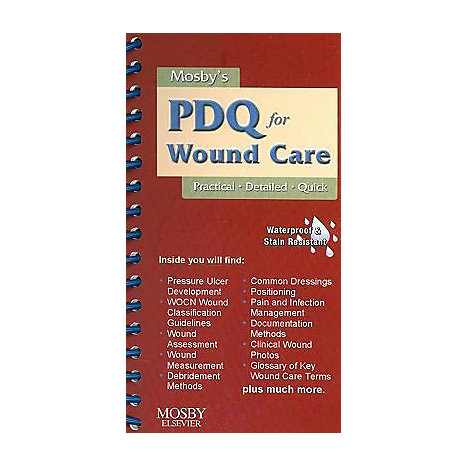 ISBN: 9780323056670, Title: MOSBY PDQ FOR WOUND CARE