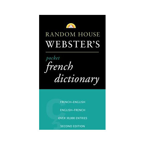 ISBN: 9780375701566, Title: RH WEBSTER'S PKT FRENCH DICTIO