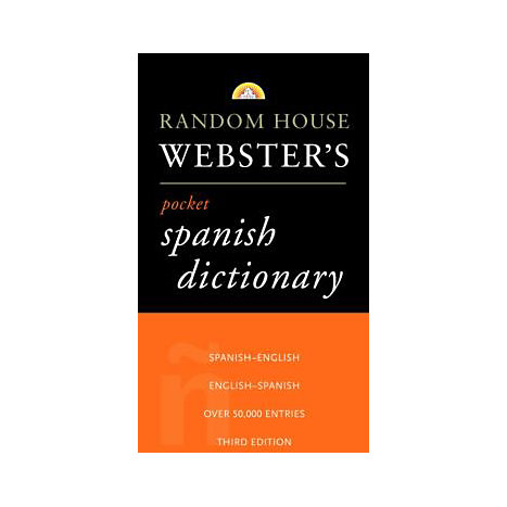 ISBN: 9780375705663, Title: RH WEBSTER'S PKT SPANISH DICTI