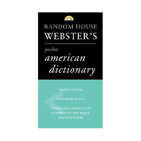 ISBN: 9780375719370, Title: RH WEBSTER'S PKT AMN DICT