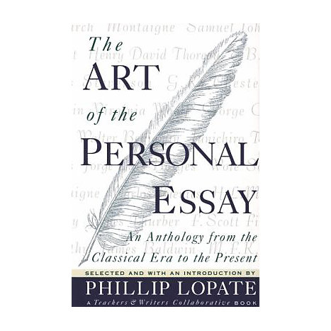 ISBN: 9780385423397, Title: ART OF THE PERSONAL ESSAY