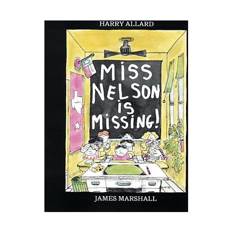 ISBN: 9780395401460, Title: MISS NELSON IS MISSING
