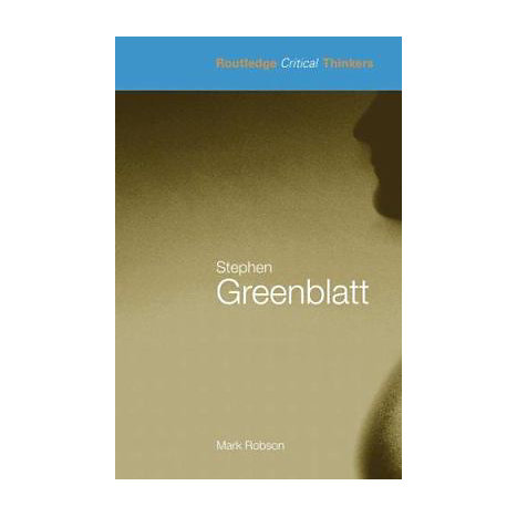 ISBN: 9780415343855, Title: Stephen Greenblatt