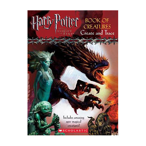 ISBN: 9780439632966, Title: Harry Potter and the Goblet of Fire: Book of Creatures, Create and Trace