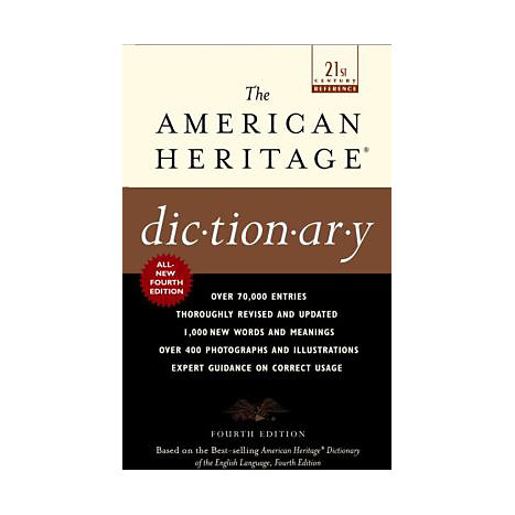 ISBN: 9780440237013, Title: AMER HERITAGE DICT 4E MASS-MRK