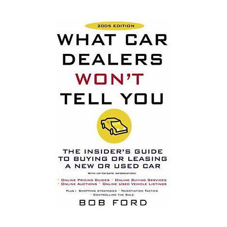 ISBN: 9780452286771, Title: WHAT CAR DEALERS WON'T TELL YO
