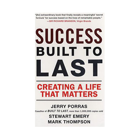 ISBN: 9780452288706, Title: SUCCESS BUILT TO LAST