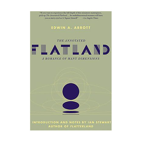 ISBN: 9780465011230, Title: The Annotated Flatland: A Romance of Many Dimensions