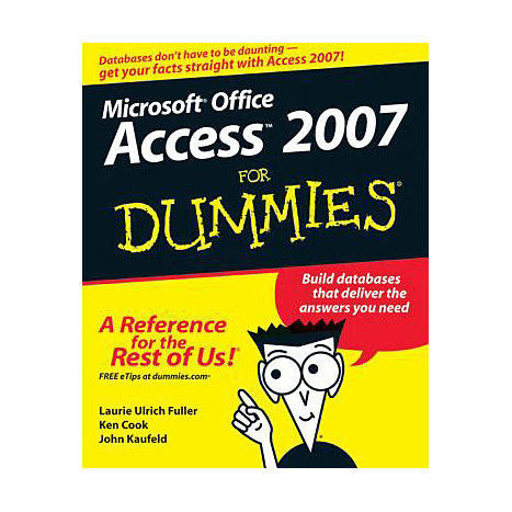 ISBN: 9780470046128, Title: ACCESS 2007 FOR DUMMIES