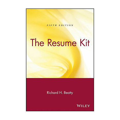 ISBN: 9780471449263, Title: RESUME KIT