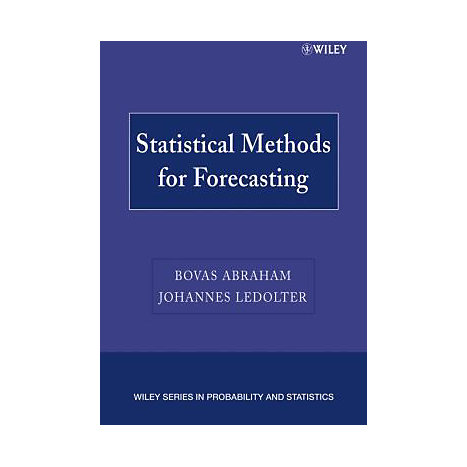 ISBN: 9780471769873, Title: Statistical Methods for Forecasting